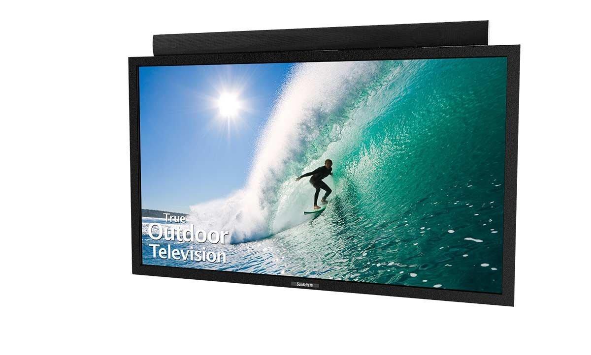 An image of SunBriteTV SB-5518HD-BL 55-Inch FHD LED Outdoor TV