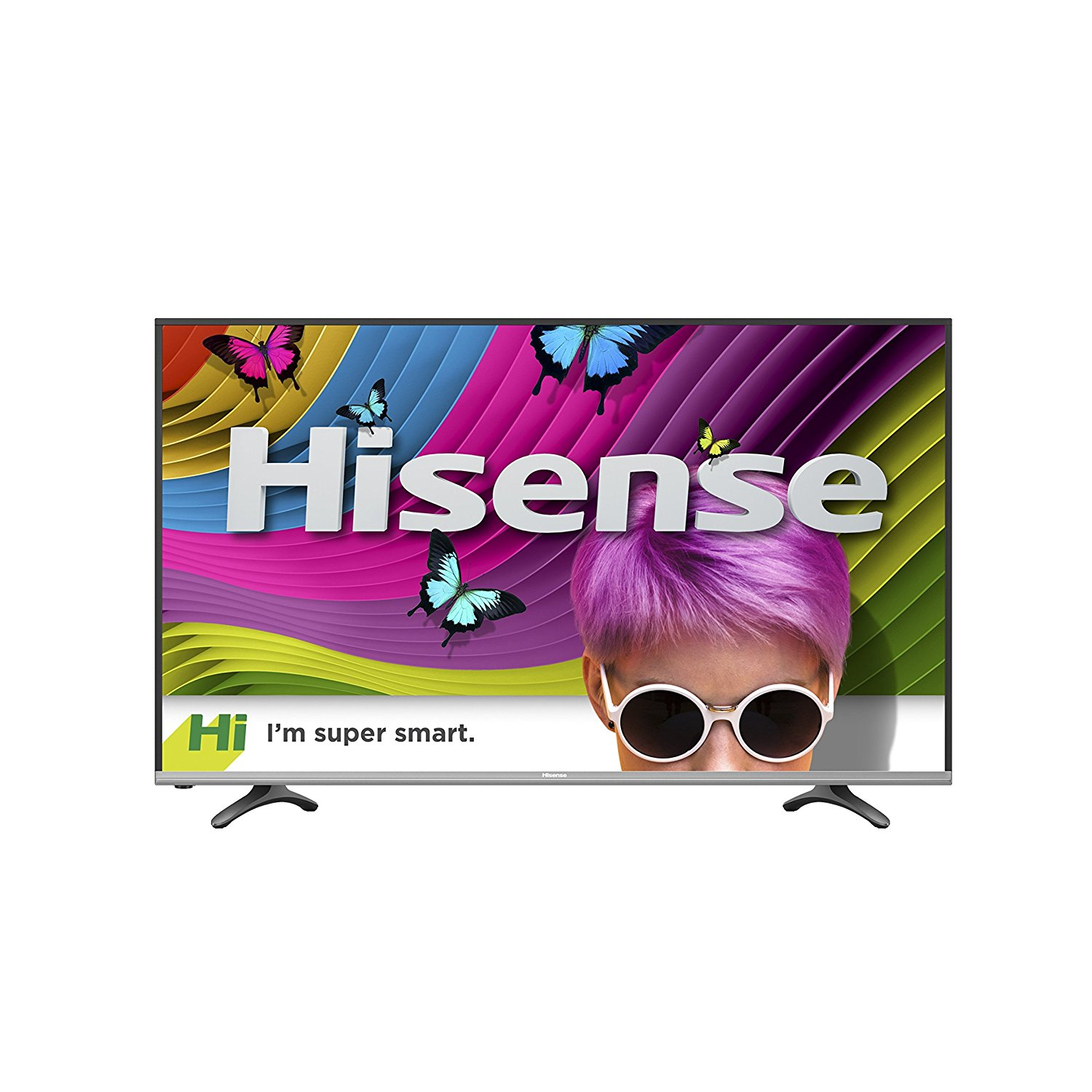 An image of Hisense H8 55H8C 55-Inch HDR Flat Screen 4K LED 60Hz TV with Motion Rate 120