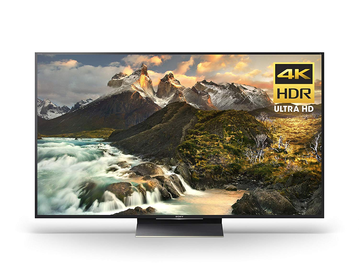 An image of Sony XBR65Z9D 65-Inch HDR 3D 4K LED 120Hz Smart TV with Sony Motionflow XR 1440