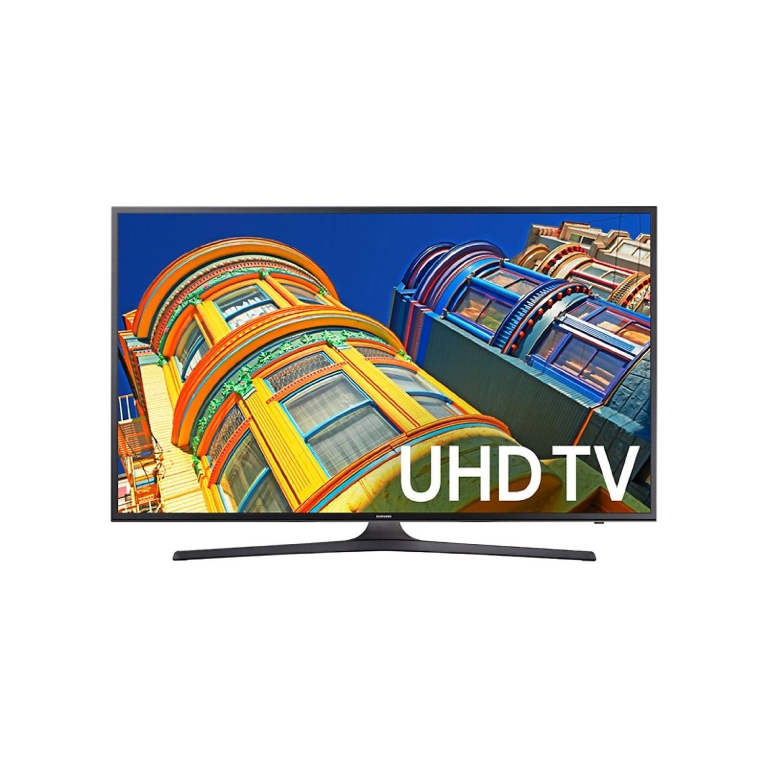 An image of Samsung UN65KU6290FXZA 65-Inch HDR 4K LED Smart TV with Motion Rate 120