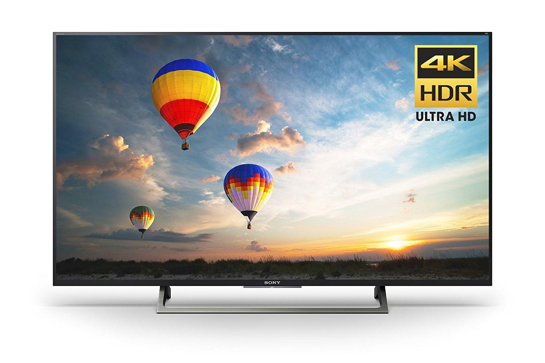 An image of Sony XBR49X800E 49-Inch HDR 4K LED 60Hz TV with Sony Motionflow XR 240