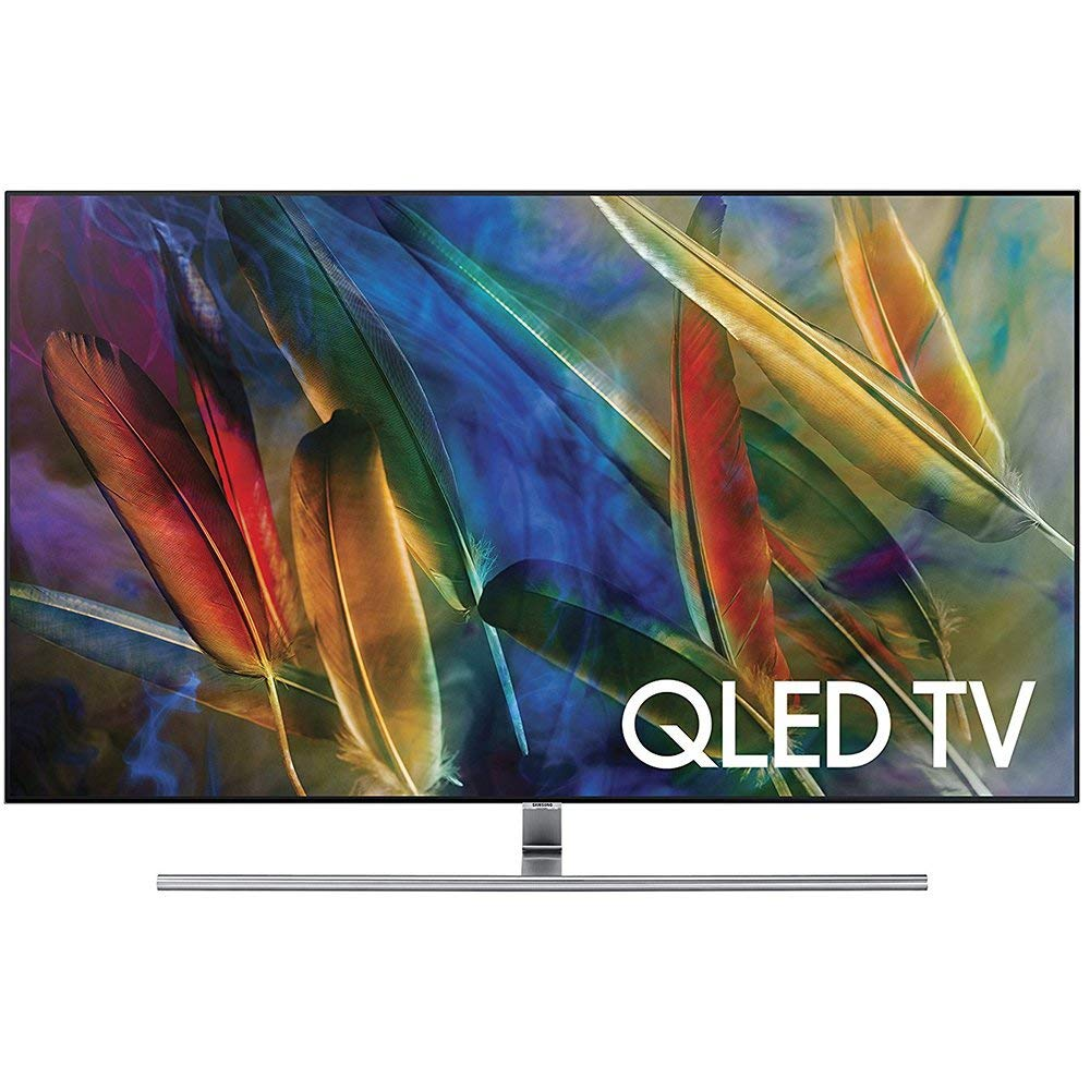 An image of Samsung QN55Q7FAMFXZA 55-Inch HDR No Bezel 4K QLED 240Hz Smart TV with Samsung Motion Rate 240