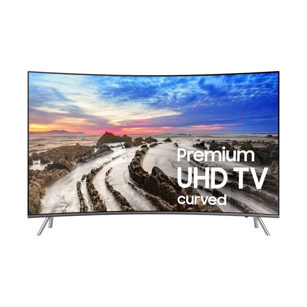An image related to Samsung 8 Series UN65MU8500FXZA 65-Inch HDR Curved 4K LED 240Hz TV with Samsung Motion Rate 240
