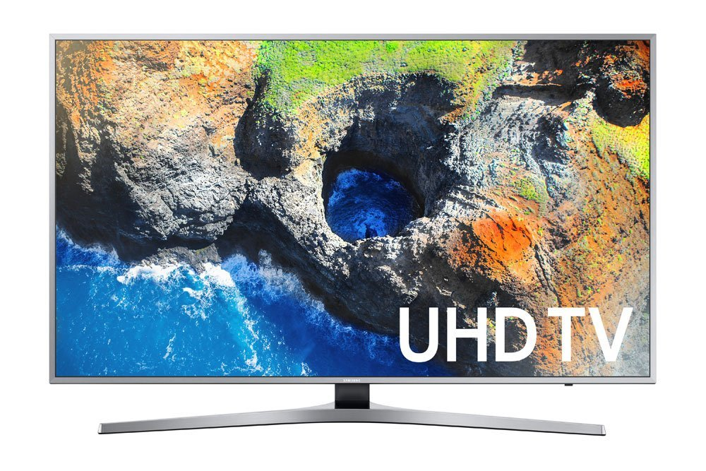 An image of Samsung UN40MU7000FXZA 40-Inch HDR Flat Screen 4K LED 120Hz TV with Motion Rate 120 | Your TV Set