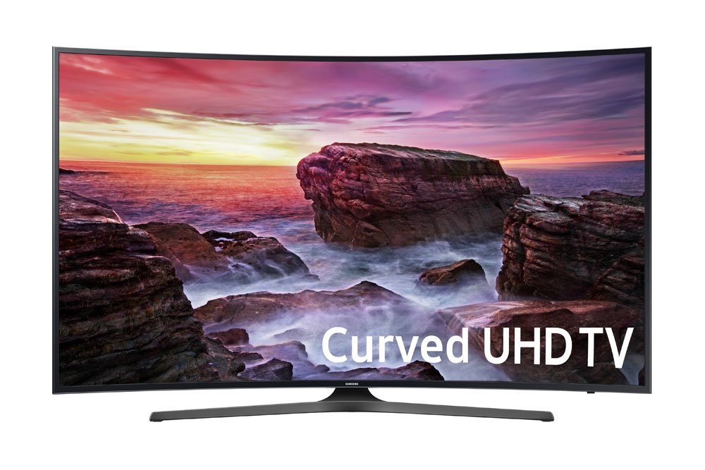 An image of Samsung 6 Series UN55MU6500FXZA 55-Inch HDR Curved 4K LED 120Hz TV with Motion Rate 120