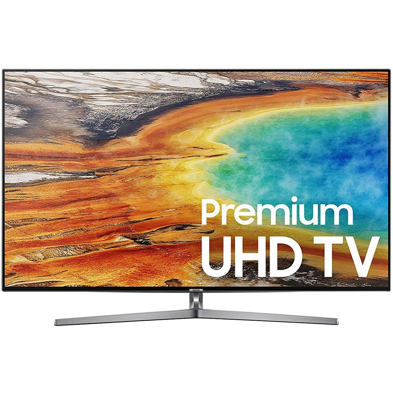 An image related to Samsung UN55MU9000FXZA 55-Inch HDR Flat Screen 4K LED TV with Samsung Motion Rate 240