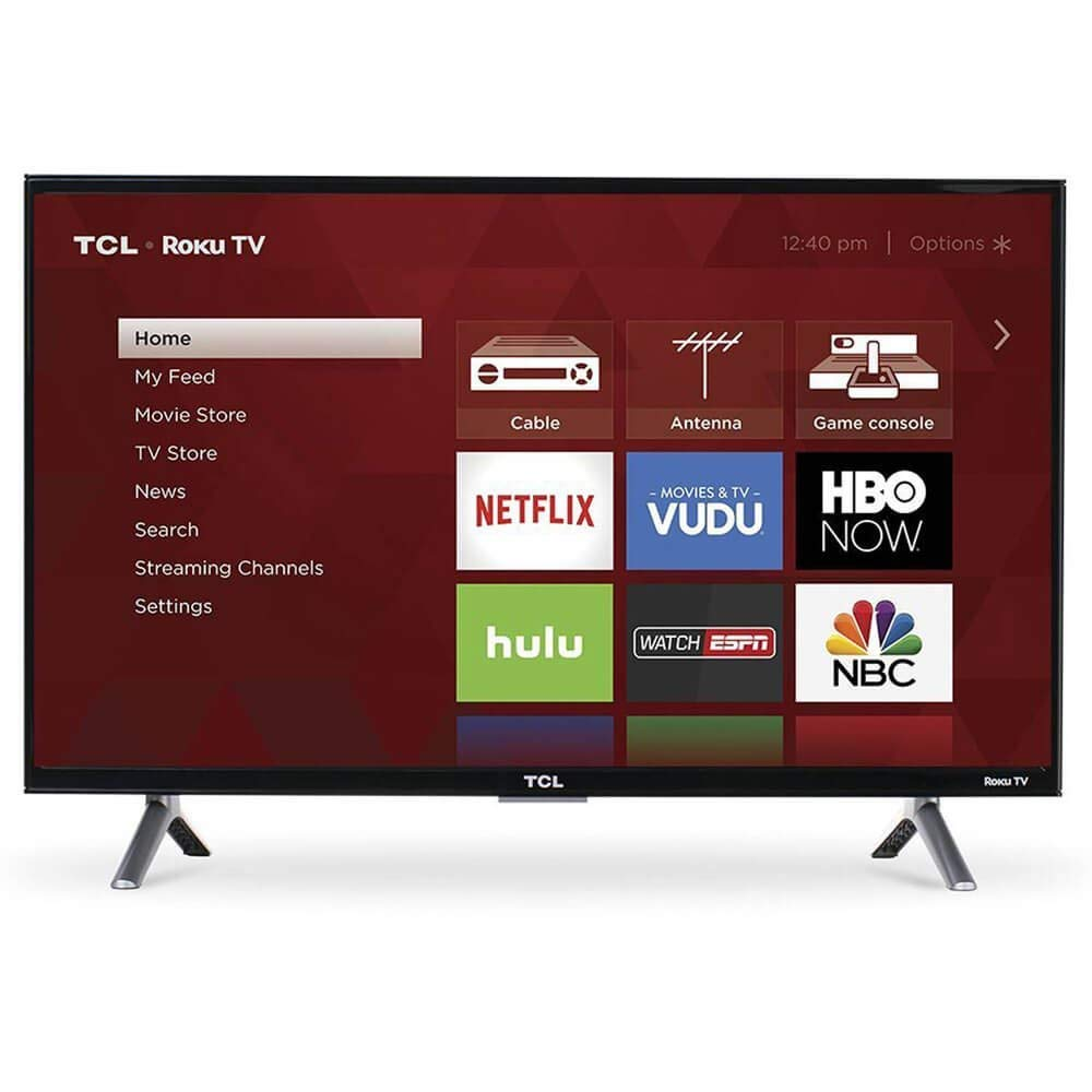 An image of TCL 4 Series 55S405 55-Inch HDR Flat Screen 4K LED 120Hz TV with Motion Rate 120