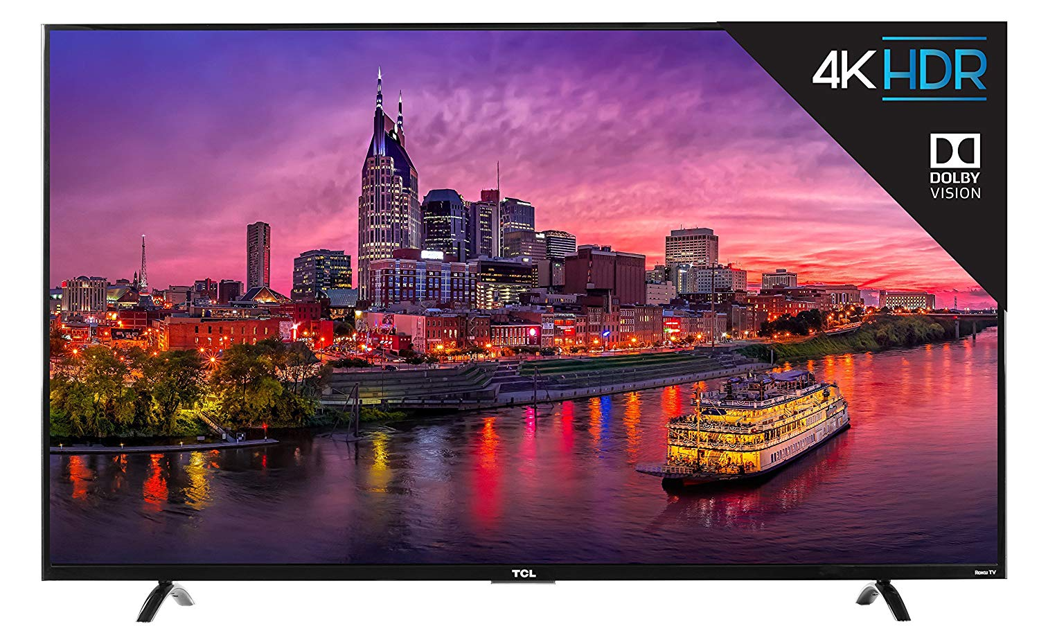 An image related to TCL 55P605 55-Inch HDR 4K LED 120Hz TV with Motion Rate 120