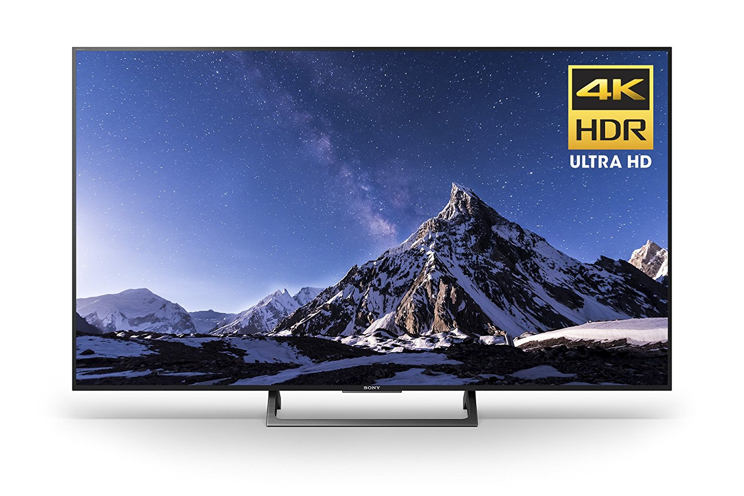 An image of Sony KD49X720E 49-Inch HDR 4K LED 60Hz Smart TV with Sony Motionflow XR 240 | Your TV Set