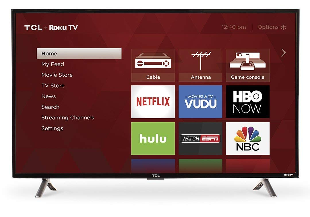 An image related to TCL 40S305 40-Inch FHD LED Smart TV
