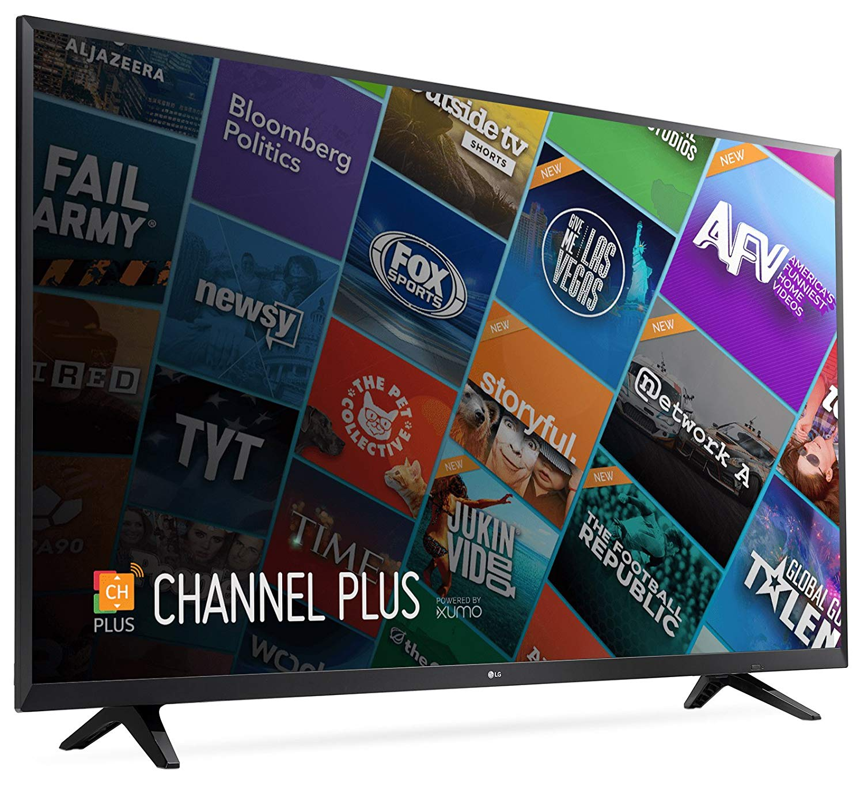 An image of LG 49UJ6200 49-Inch HDR 4K LED 60Hz TV with LG TruMotion 120
