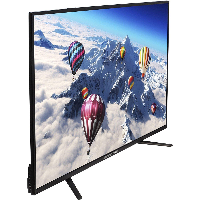 An image related to Sceptre U550CV-U-ROKU 55-Inch 4K LED 60Hz TV with MEMC 120
