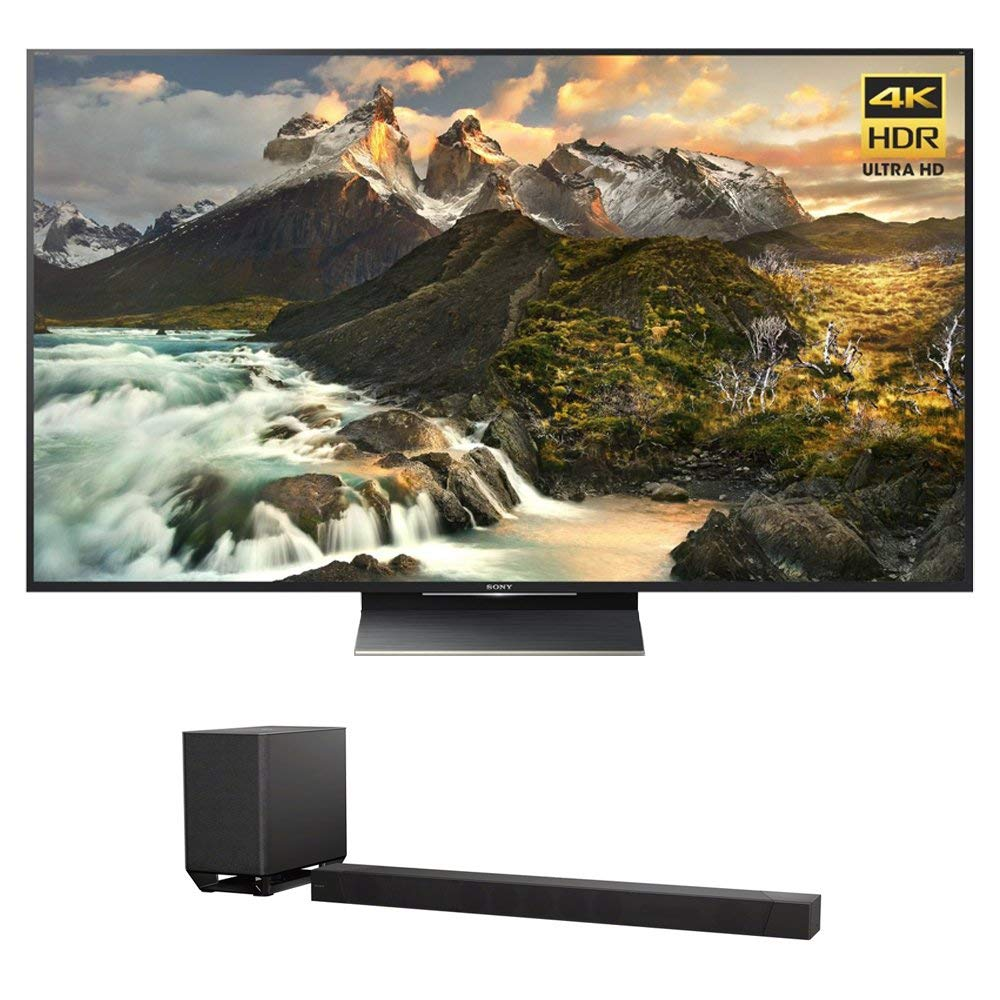 An image related to Sony XBR-65Z9D 65-Inch HDR Flat Screen 3D 4K LED 120Hz TV