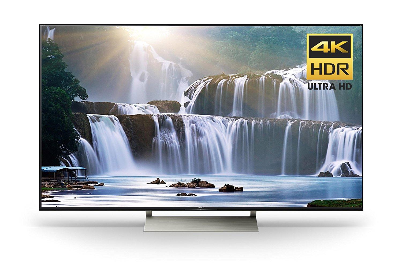 An image of Sony XBR65X930E 65-Inch HDR 4K LED 120Hz TV with Sony Motionflow XR 960