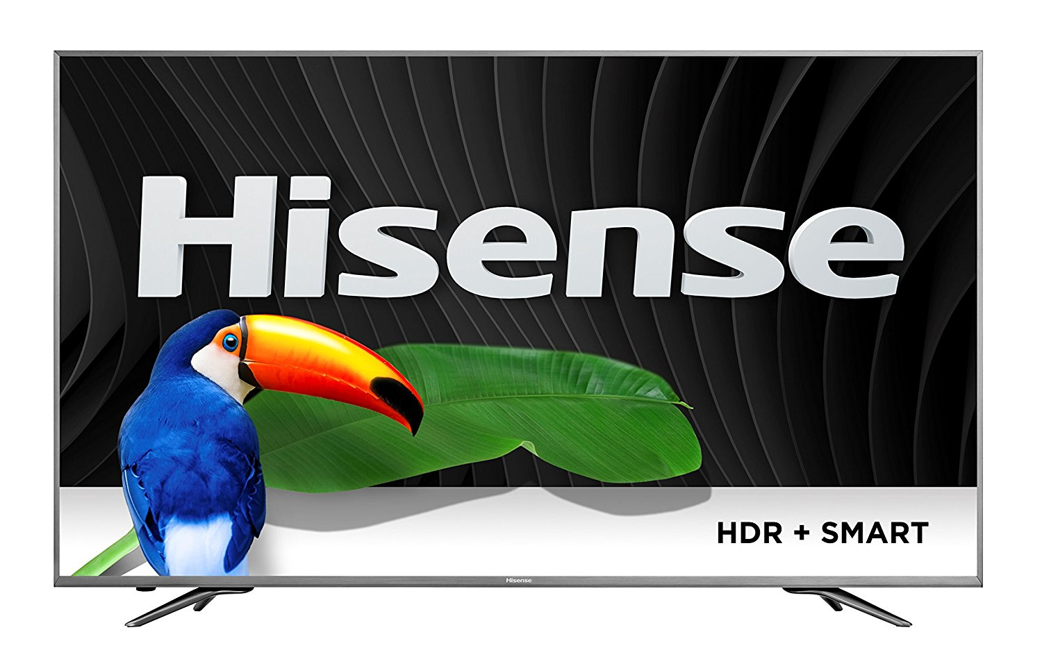 An image of Hisense 888143002347 65-Inch HDR Flat Screen 4K LED 120Hz TV with Sony Motionflow XR 480
