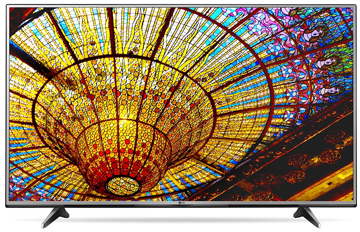 An image of LG 55UH6150 55-Inch HDR 4K LED 120Hz Smart TV with LG TruMotion 120 | Your TV Set