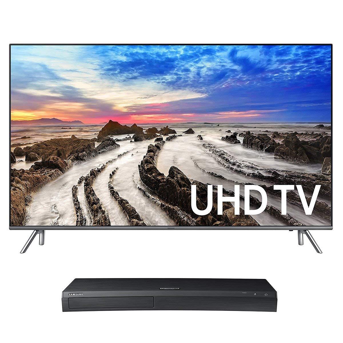 An image of Samsung UN75MU8000 75-Inch HDR 4K TV