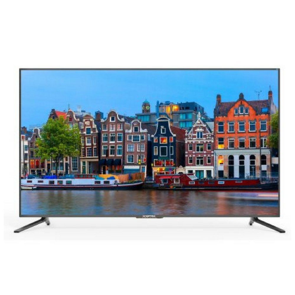 An image of Sceptre U650CV-U-ROKU 65-Inch 4K LED 60Hz Smart TV with MEMC 120
