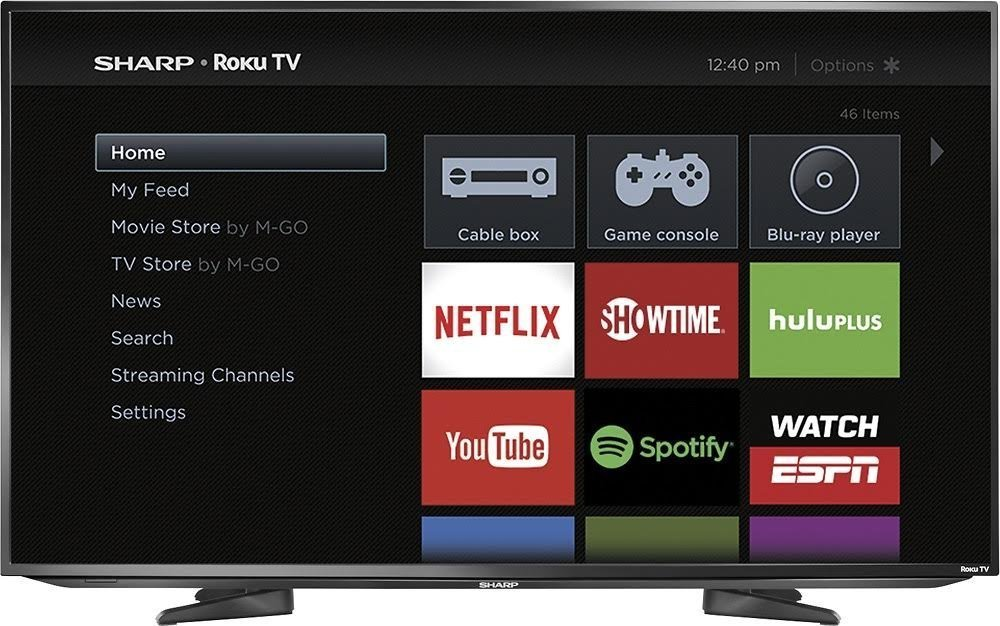 An image related to Sharp LC-43LB481U 43-Inch FHD LED Smart TV