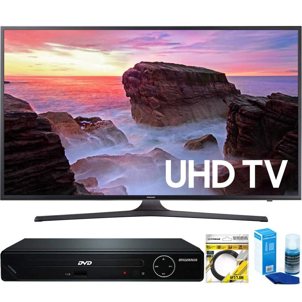 An image related to Samsung MU6300 UN40MU6300FXZA 40-Inch HDR Flat Screen 4K LED TV with Motion Rate 120