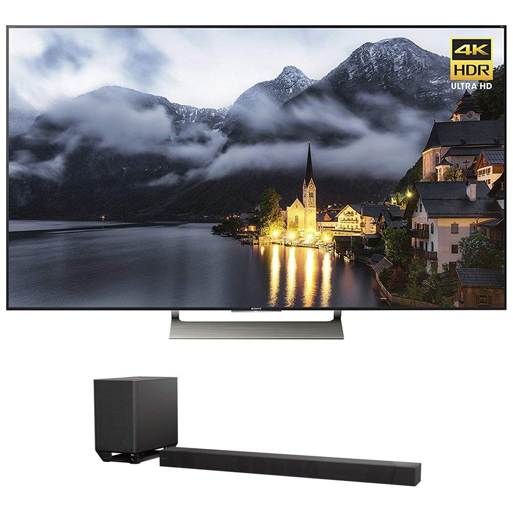 An image related to Sony XBR-65X900E 65-Inch HDR Flat Screen 4K LED 120Hz TV with Sony Motionflow XR