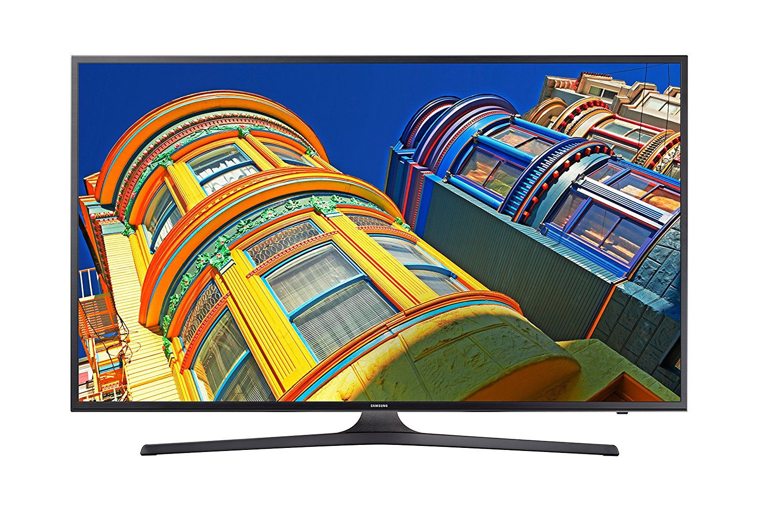 An image related to Samsung UN55KU6290FXZA 55-Inch HDR 4K LED 60Hz TV with Motion Rate 120