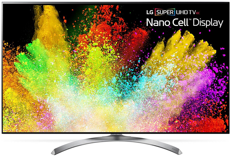An image of LG 55SJ8500 55-Inch HDR 4K LED 240Hz TV with LG TruMotion 240