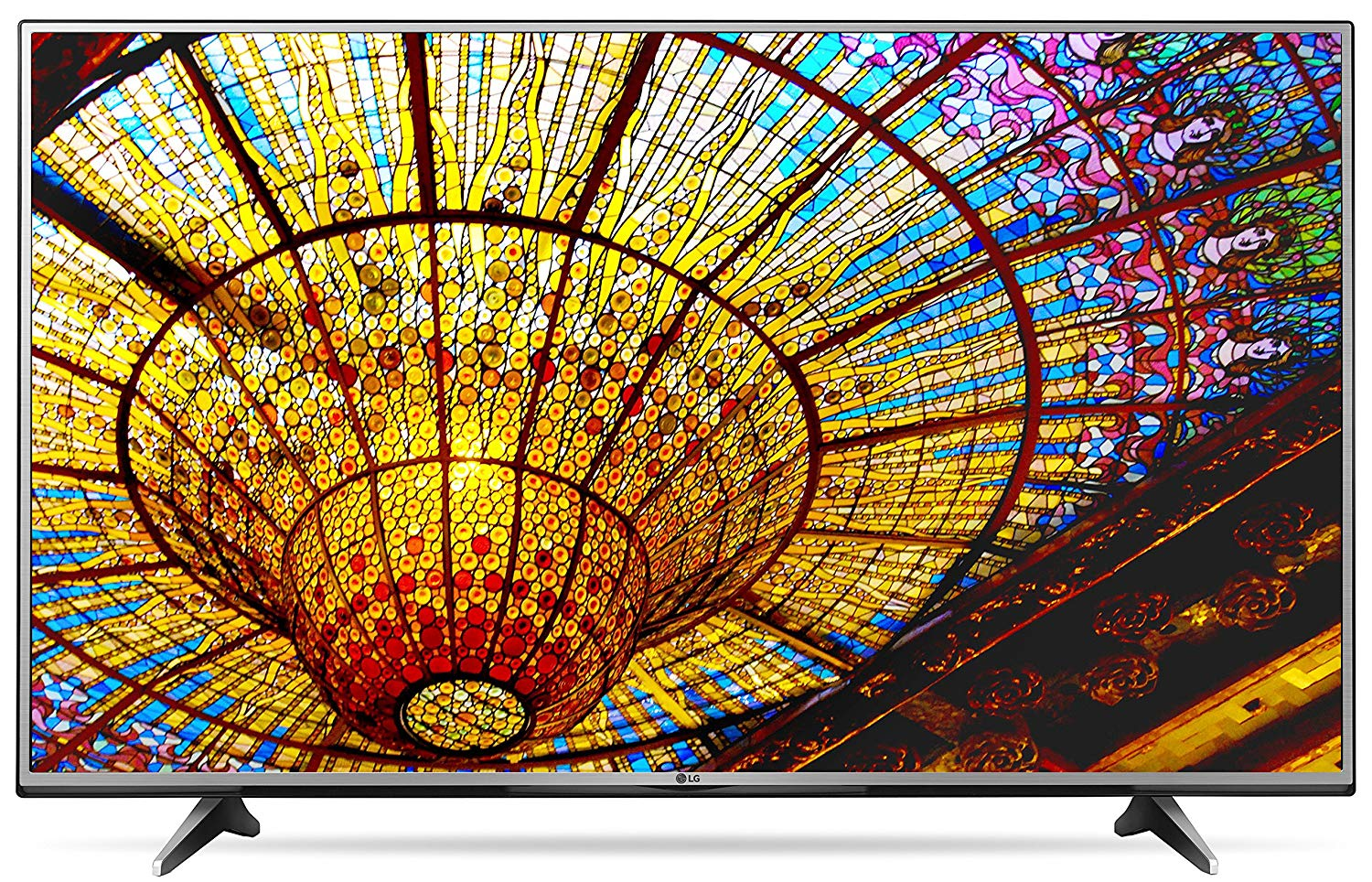 An image of LG 65UH6150 65-Inch HDR Flat Screen 4K LED 120Hz TV with LG TruMotion 120