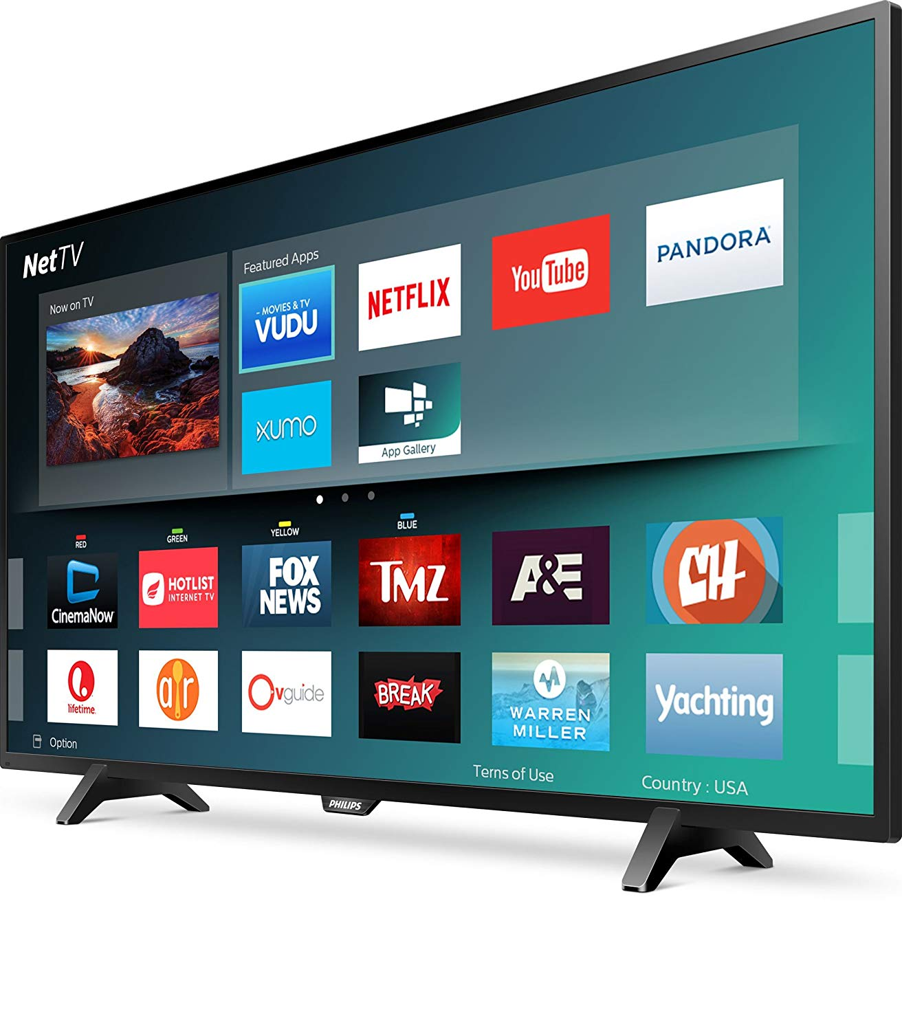 An image related to Philips 43PFL4902 43-Inch FHD LED Smart TV