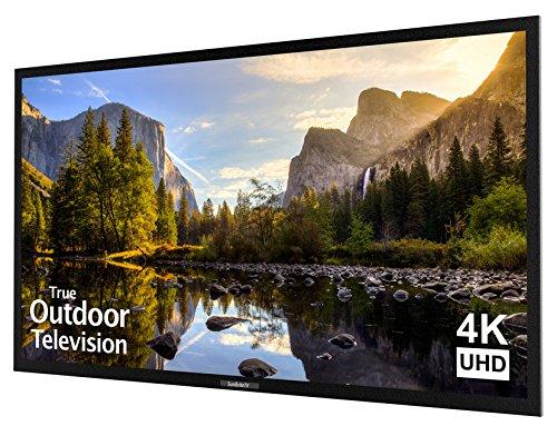 An image of SunBriteTV Veranda Series SB-5574UHD-BL 55-Inch 4K LED Outdoor 60Hz TV