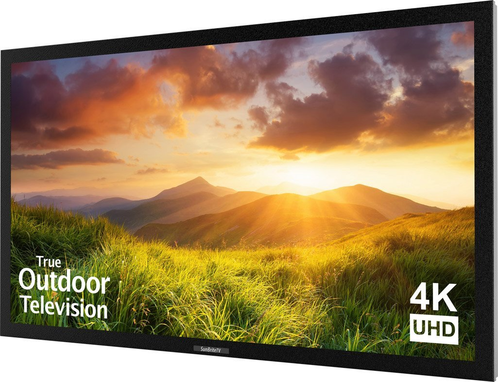 An image of SunBriteTV Signature Series SB-S-55-4K-BL 55-Inch 4K LED Outdoor TV