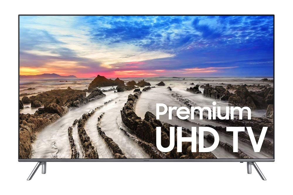 An image of Samsung 8-Series UN49MU8000FXZA 49-Inch HDR Flat Screen 4K LED 120Hz Smart TV with Motion Rate 120