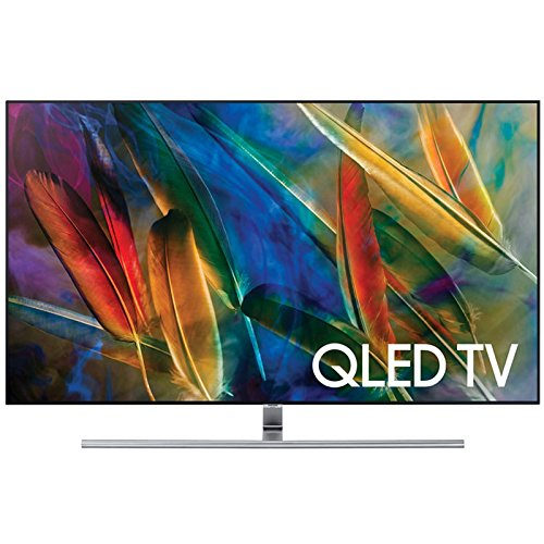 An image of Samsung QN75Q7FAMFXZA 75-Inch HDR Curved 4K QLED 240Hz Smart TV with Samsung Motion Rate 240