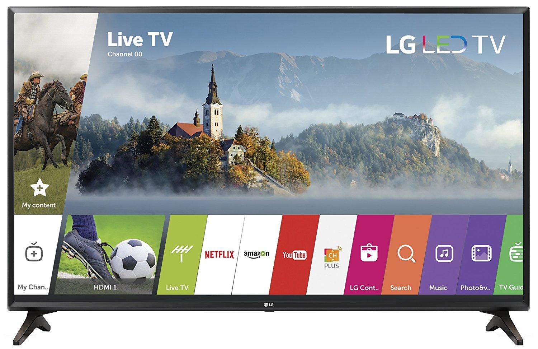 An image of LG 32LJ550B 32-Inch HD LED Smart TV