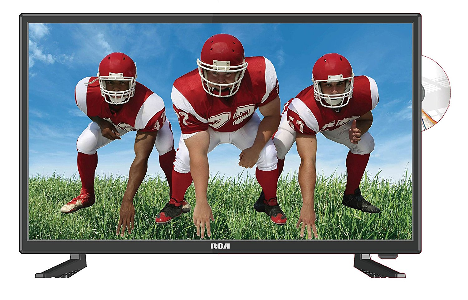 An image of RCA RTDVD2409 24-Inch FHD LED TV