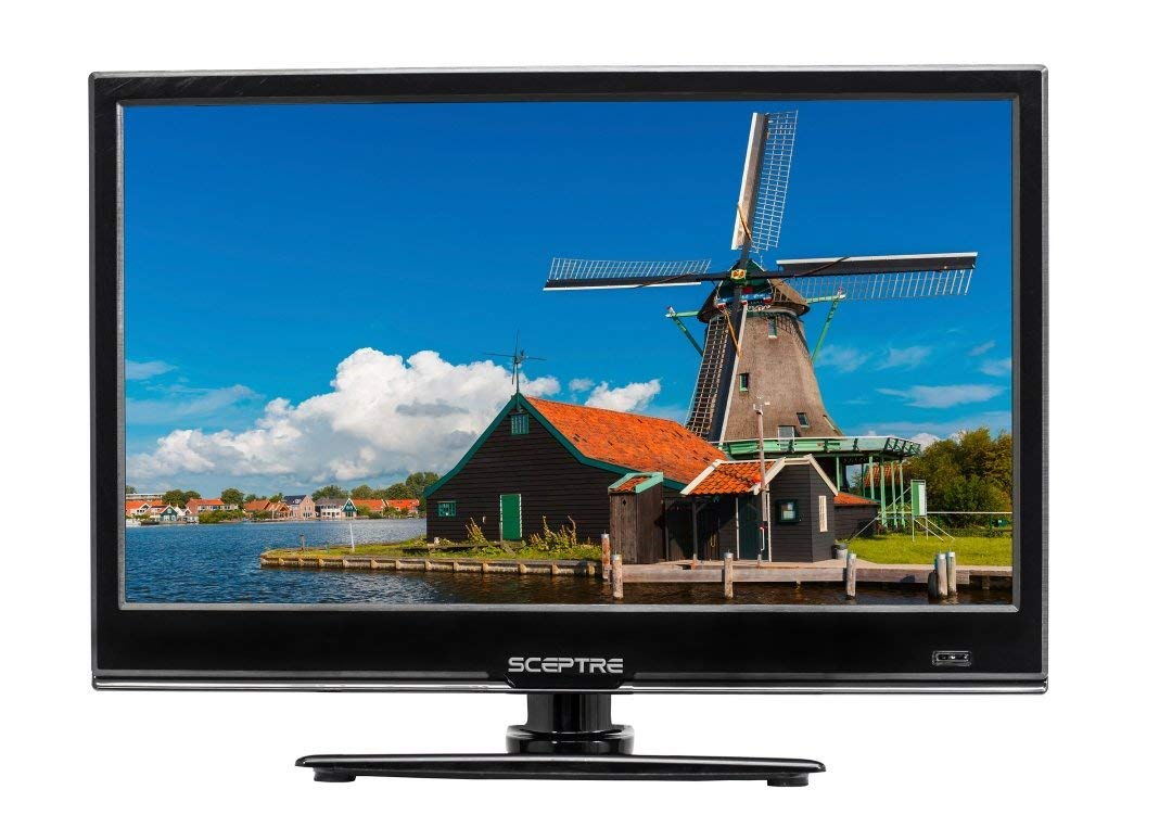An image of Sceptre E165BV-SS 16-Inch 3D HD LED TV | Your TV Set
