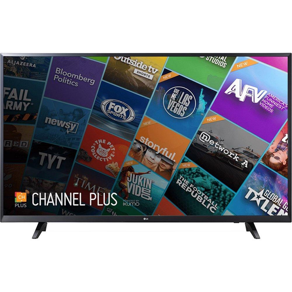 An image of LG UJ6200 55UJ6200 55-Inch HDR 4K LED 60Hz Smart TV with LG TruMotion 120