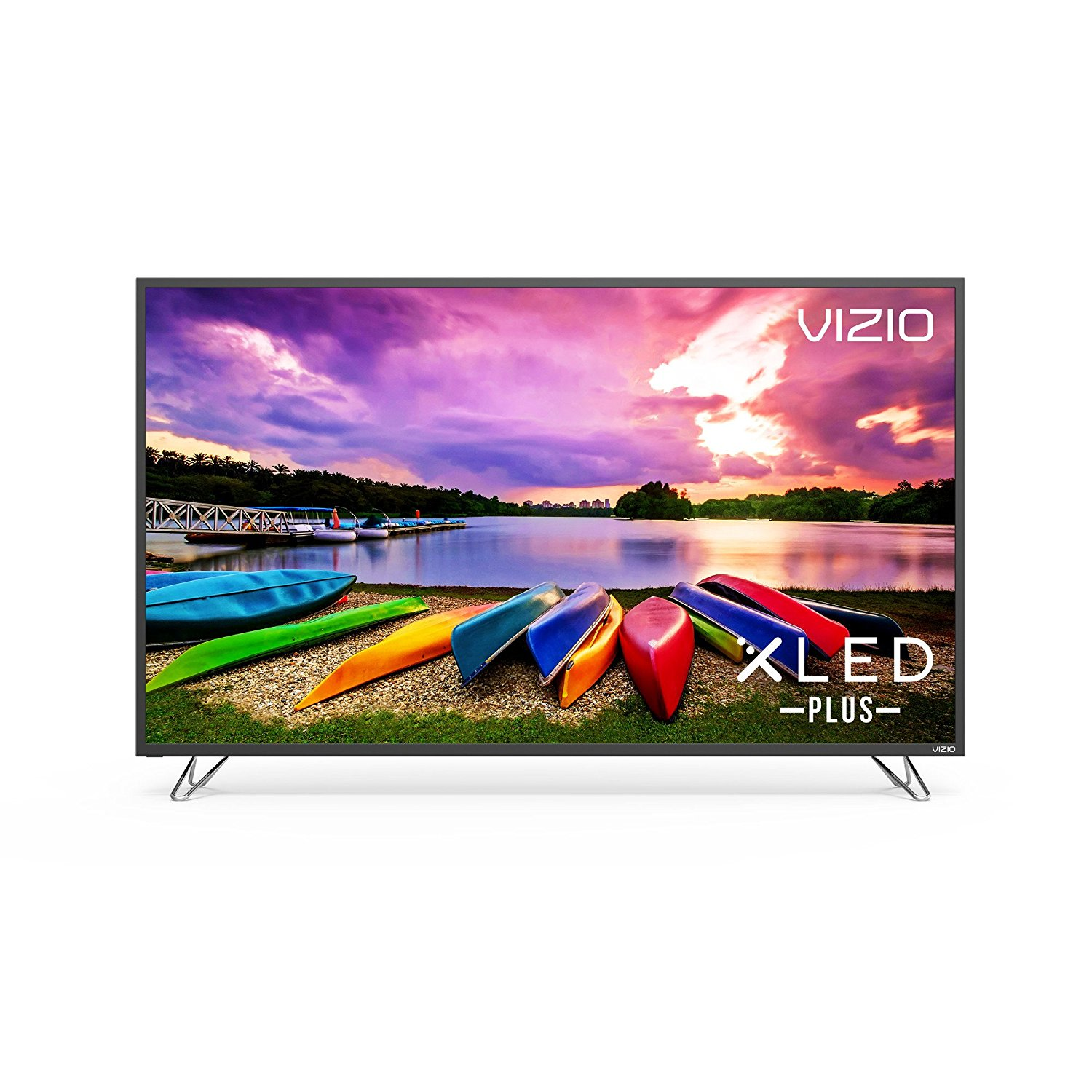 An image of VIZIO M65-E0 65-Inch HDR Flat Screen 4K LED 120Hz Smart TV with VIZIO Clear Action 360