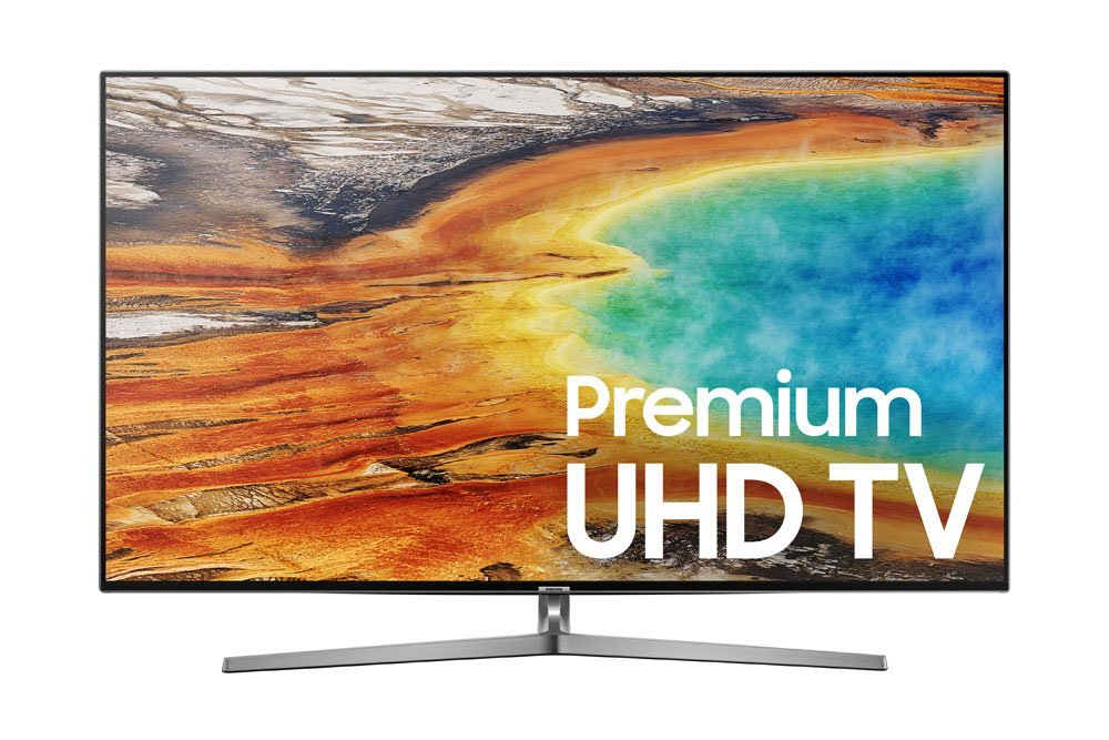 An image of Samsung UN75MU9000FXZA 75-Inch HDR Flat Screen 4K LED 240Hz TV with Samsung Motion Rate 240