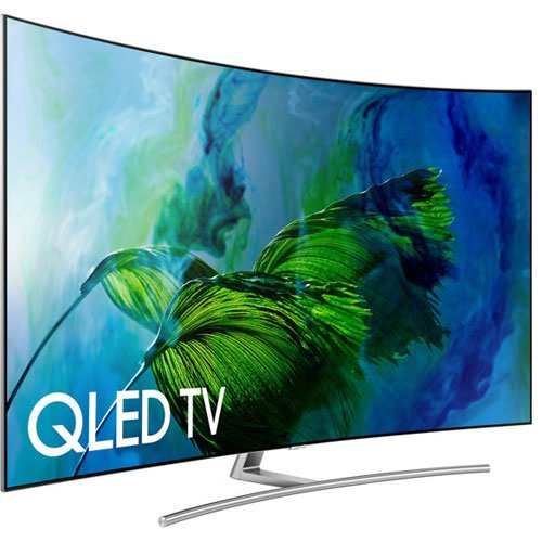 An image of Samsung QN75Q8CAMFXZA 75-Inch HDR Curved 4K QLED TV with Samsung Motion Rate 240