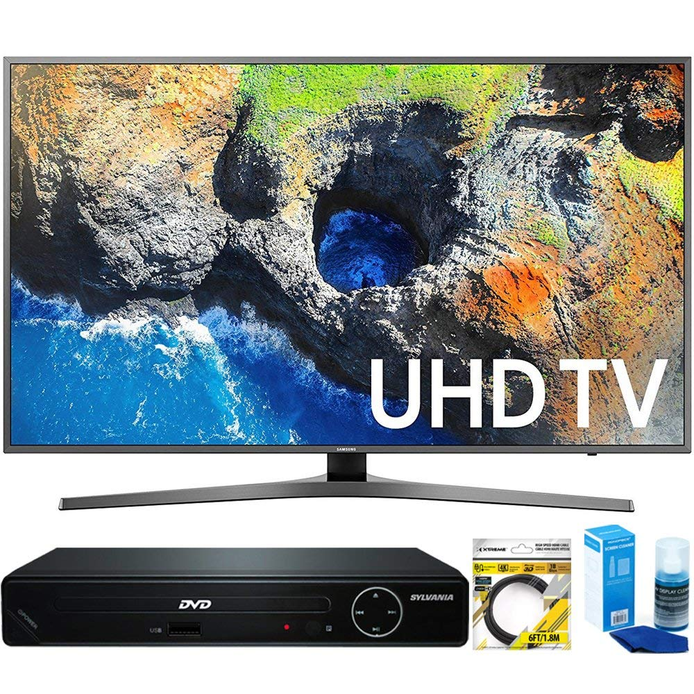 An image related to Samsung UN40MU7000 40-Inch HDR Flat Screen 4K LED Smart TV with Motion Rate 120