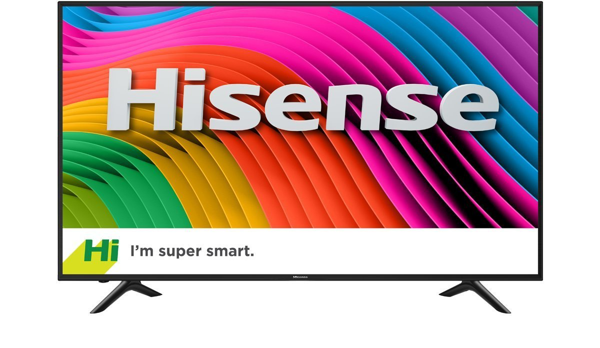 An image of Hisense H7 Series HISNTV 43H7D 43-Inch HDR Flat Screen 4K LED 60Hz TV with Ultra Smooth Motion