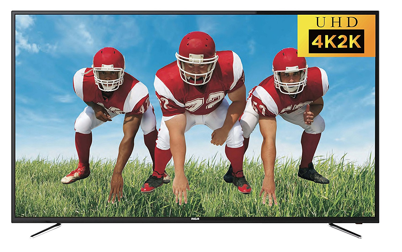 An image of RCA RTU6549 65-Inch Flat Screen 4K LED 60Hz TV | Your TV Set