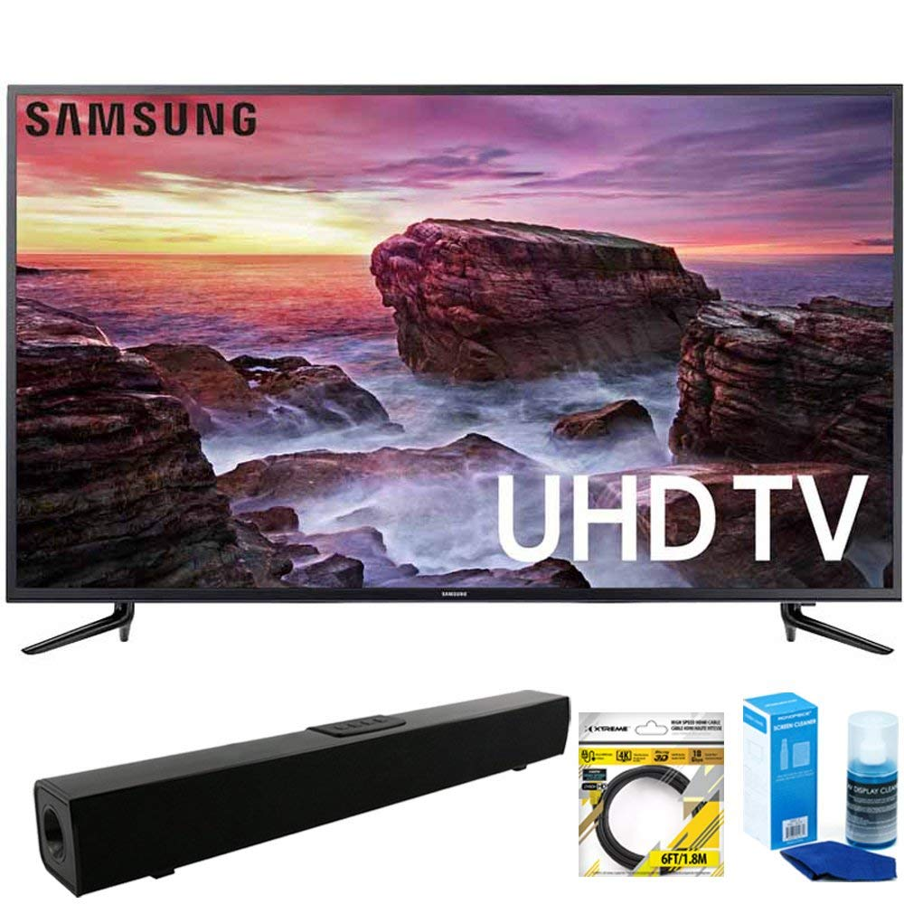 An image related to Samsung MU6100 UN58MU6100 58-Inch HDR 4K LED Smart TV with Samsung Motion Rate 120