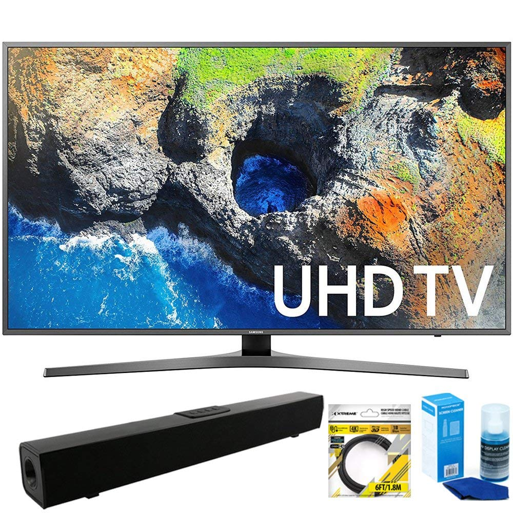 An image related to Samsung MU7000 UN65MU7000FXZA 65-Inch HDR 4K LED TV with Motion Rate 120