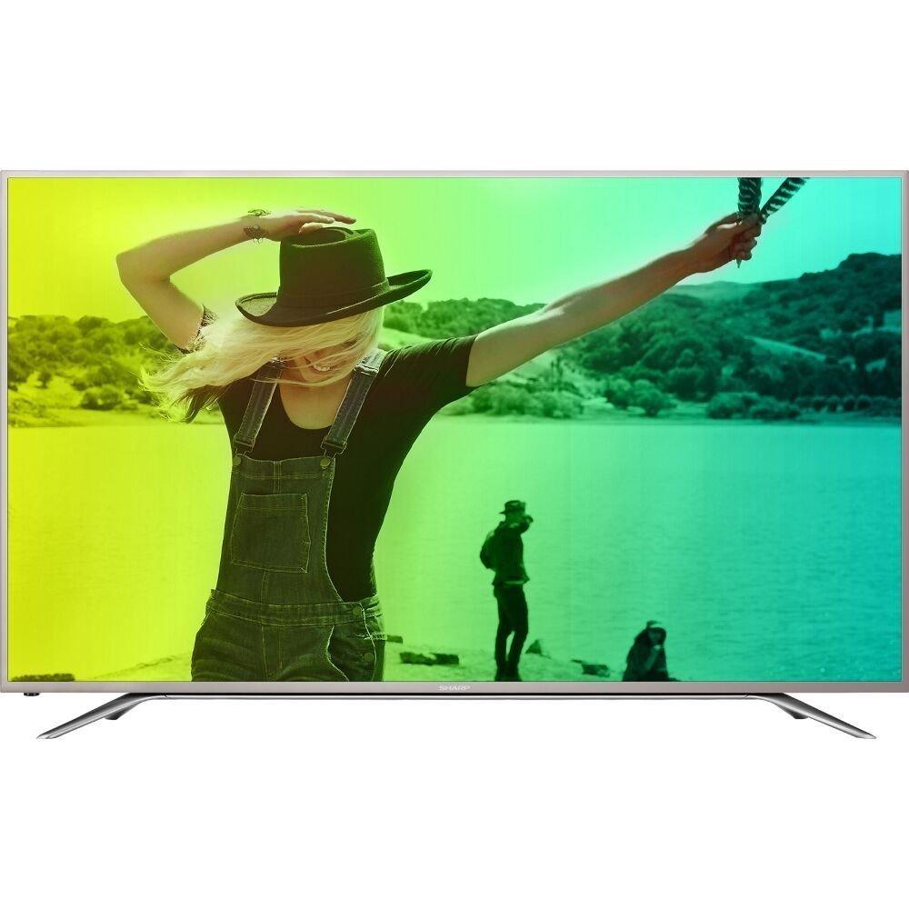 An image of Sharp LC-55N7000U 55-Inch HDR Flat Screen 4K LED 60Hz Smart TV