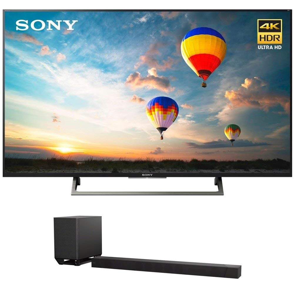 An image of Sony XBR-55X800E 55-Inch HDR Flat Screen 4K LED 60Hz Smart TV with Sony Motionflow XR