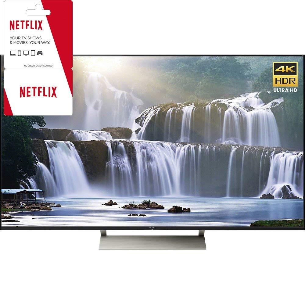 An image of Sony 65X930E 65-Inch HDR 4K LED 120Hz TV with Sony Motionflow XR