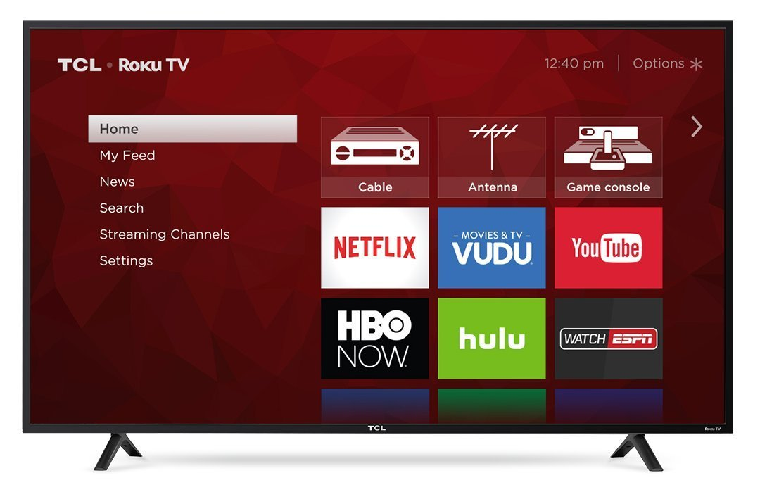 An image of TCL S-Series 55S401 55-Inch HDR 4K LED 120Hz TV