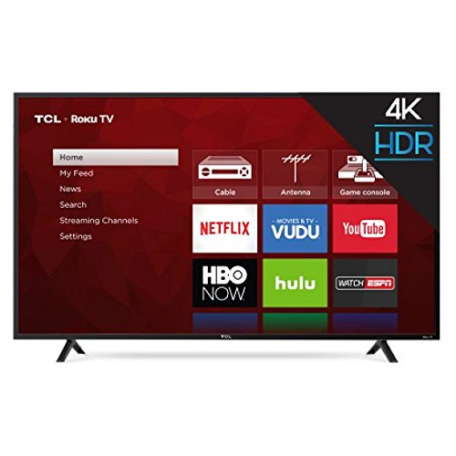 An image of TCL S-Series 65S401 65-Inch HDR 4K LED 120Hz TV